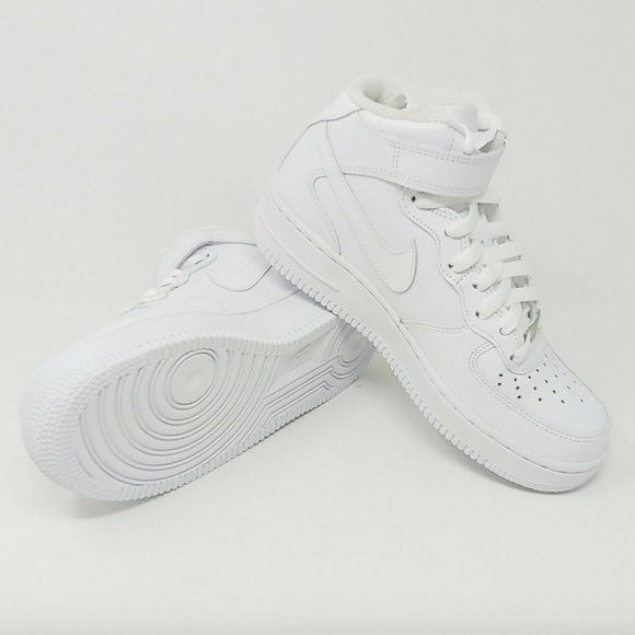 online store 413ad a133d Nike Womens Air Force 1 Mid 07 LE AF1 Sneakers NWT